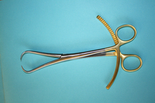 "Mouse over image to zoom Details about NEW Bone Reduction Forceps 8"" Gold Plated Orthopedic Surgical Instruments CE."