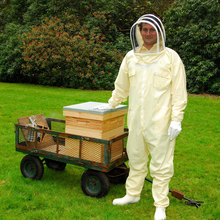 Beekeeping Jacket and Veil Bee Dress Smock Equip Professinal Protecting Suit Hot Five stars