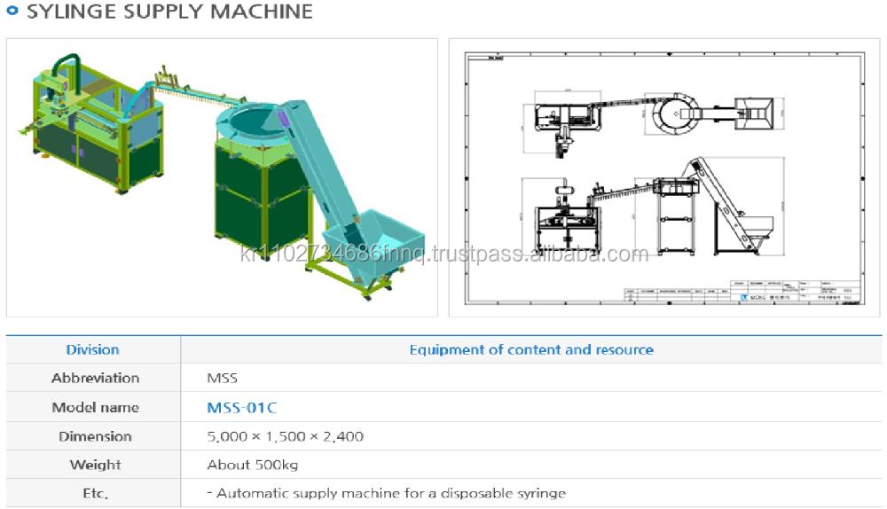 syringe manufacturing machine price