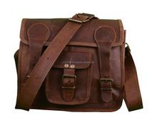 Leather Bag Leather Messenger Satchel Laptop Classic Messenger Bag Laptop Tablet College Cross Body Shoulder Bag