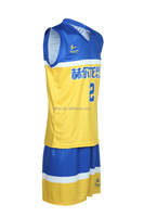Healong 3D Sublimation Transfer italy basketball jersey white basketball jersey design