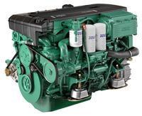 Used Volvo Penta D4-260 marine diesel engine 260hp