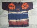 Los dioses hindúes impreso tie dye algodón t- shirt 100 pcs