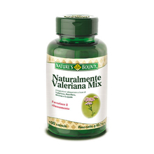 Nature's Bounty course Valerian Mix 100 Dietary Supplement Capsules 60.7g