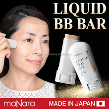 Easy to use best foundation stick BB liquid bar ingredients ceramide made in Japan