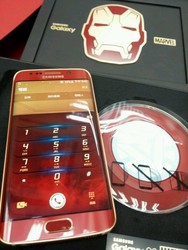 Accept Paypal For New Samsug Galaxy S6 EDGE (IRON MAN) Limited Edition