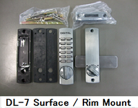 Easy to use and Durable number lock with good design made in Japan
