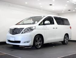 USED CARS - TOYOTA ALPHARD 350G L PACKAGE (RHD 820670 GASOLINE)