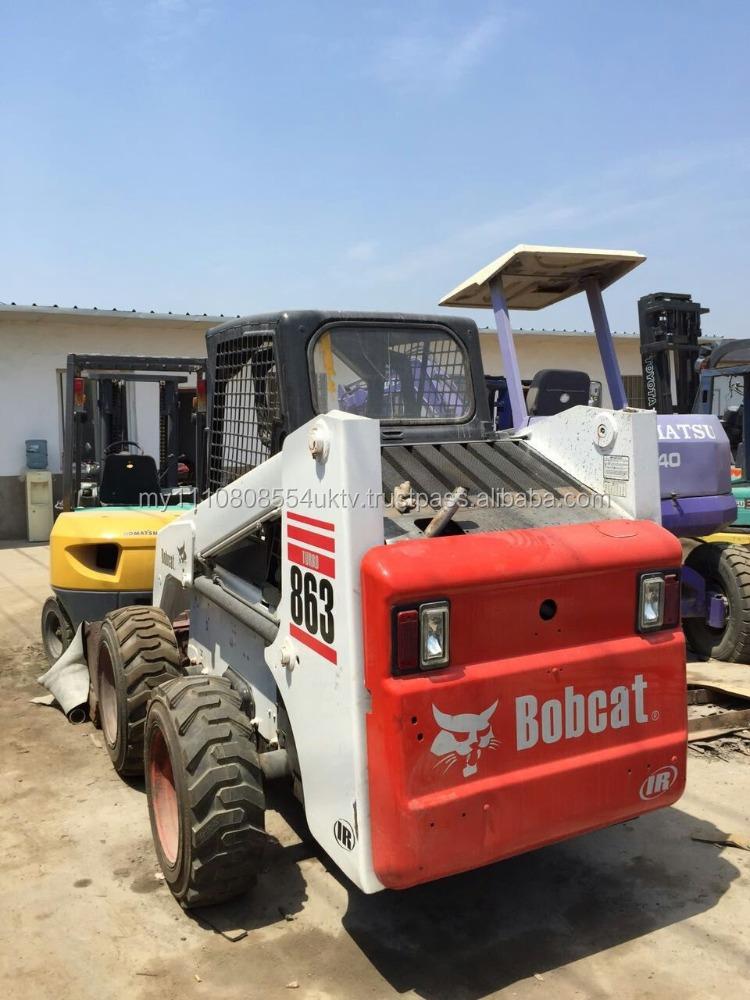 Bobcat Mini Skid Steer : Skid steer used mini loader bobcat