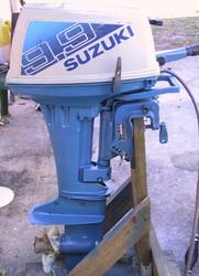 Used Suzuki DF9.9 9.9 HP 9.9hp 4 Stroke Outboard Motor Engine