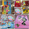 Floor Covering Acrylic Touch Kids Carpet polypropylene