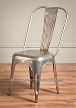triumph Replica metal chair, Marais Cafe metal chair,