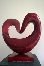 HT3618 Polyresin lacquer sculpture, high quality- http://lacquerhomevn.com/