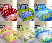 Kids Woven Bed Sheet Set Cotton/Polyester