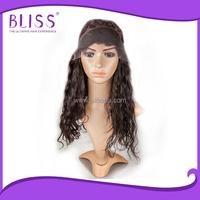 Wholesale brazilian virgin human hair half wig