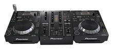 BUY 2 UNIT GET 1 FREE For New 2X PIONEER CDJ-350 Turntable + DJM-350 Mixer 110 220V