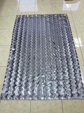 100%silk douppioni fabric for curtain