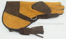 Suede Leather Falconry Glove Medium Double skin Velvet/eagle falcon glove