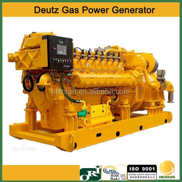 50hz 60hz AC 3 phases Deutz 81kw Gas Generator