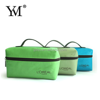 2012 designer promotional cosmetic bag with mirror