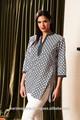 las mujeres de moda camisa a cuadros occidental desgaste de la oficina para las mujeres ropa
