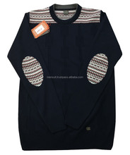 Pached Knitting Men's Sweater - %50 Acrylic %50 Wool - Made In TURKEY -Custum Producing or Stock Produt