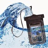 Waterproof case for mobiles with touch screen