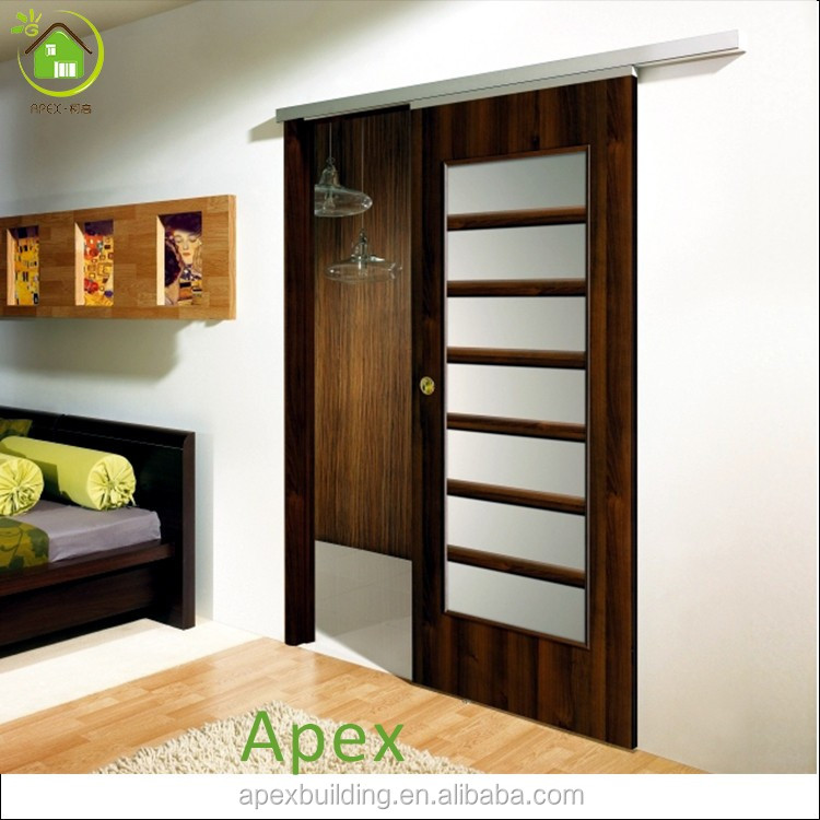 Solid Wood Frosted Glass Interior Pocket Door Bedroom Closet 45 Jpg Our Features