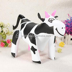 Inflatable Blow Up Cow Farm Yard Animal Novelty Toy For Child Kid Boy Girl Birthday Christamas Gift 25cm Tall
