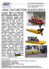 RESCUE BOAT & PLASTIC KAYAK