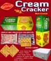 Galletas de la galleta de crema / galletas saludables galletas / luz / galletas crujientes