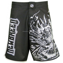 100 polyester custom sublimation thai training suit mma short, fight / kick boxing / grappling shorts mma gear , Paypal Accepted