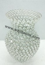 Crystal Beads Votive Candle Holders