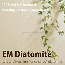 """Premium and Traditional interior wall finish materials """"EM Diatomaceous earth"""" with uncalcined diatomite made in Japan"""
