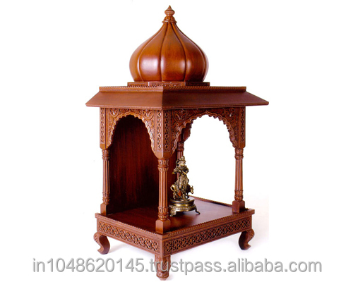 Traditional wooden temple buy wood carving in temple temple design for home wooden indian for Wooden temple for home designs