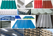 Steel (GI/Mill Finish GI/ Color coated GI) , Aluminium, Aluzinc/Galvalume profile sheets for Roofing - Dubai +971 56 5478106/UAE