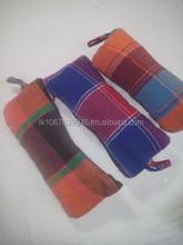 Hand loom pencil cases