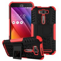 High Quality Case for ASUS Zenfone 2 Laser ZE500KL 5.0inch Cellphone TPU+PC Protective Cover Hybrid Kickstand Case With Stander