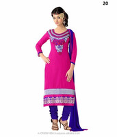 Chanderi Cotton Salwar Kameez \ Salwar Kameez Full Sleeves