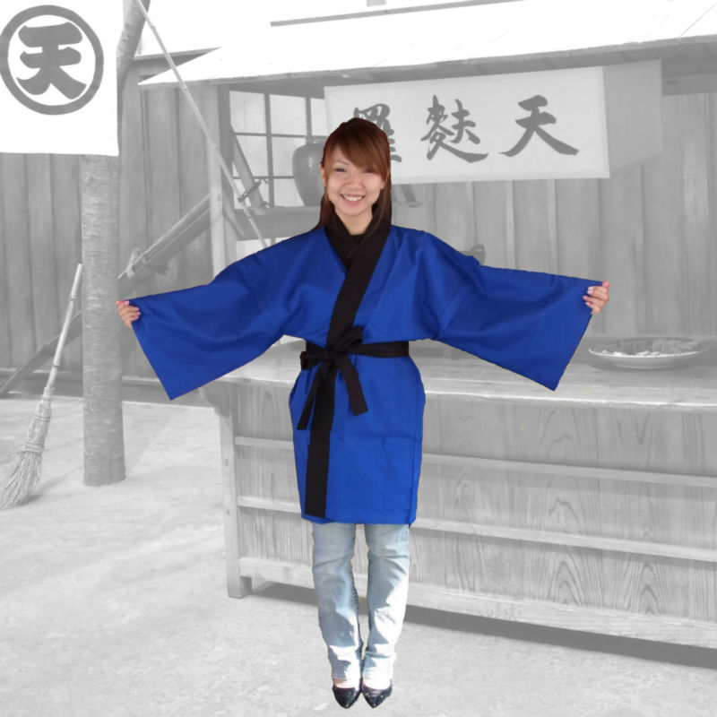japanese traditional uniforms for waiters waitress happi coat