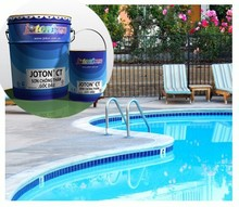 Waterproof Paint Solvent-based Weather resistant for Swimming Pool & other surfaces JOTON CT