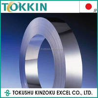 Stainless steel roll 631/632J1 for leather printer 0.015 - 2.00mm thick w3.0-300mm, Made In Japan