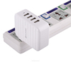 Universal 4USB Ports 6A AC Wall Charger Adaptor US PLUG For IPAD IPOD For mobile phone