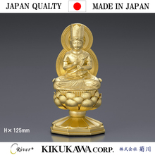Traditional crafts that Japanese craftsmen made of gold