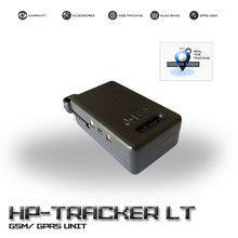 Portable GPS tracker, Two-way voice communication, Smart design for Easy attach, Compacted size, 2 Alert buttons - HPTRACKER LT