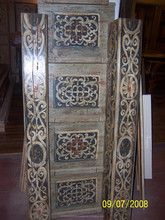 Italian wooden ceilings - Antiques - Reproduction - Lacquered - Decorated
