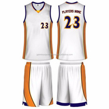 Latest Design Sublimation BasketBall Wear / Sublimation Basketball Uniform