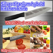 High quality Silver-titanium hybrid kitchen knives for wholesale