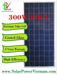 The cheapest price solar panel 300W polycrystalline - Made in Vietnam