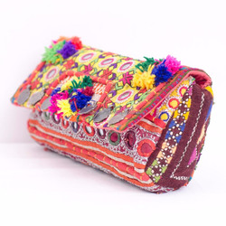Vintage Banjara mirror Shoulder Bag Ethnic Boho Gypsy Hippie Tribal